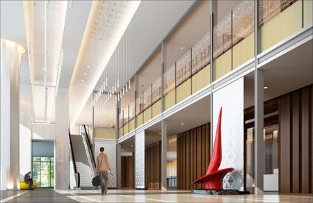 20110618新竹彩舍大樓Lobby