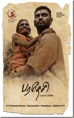 Adharvaa At Paradesi Tamil Movie Posters