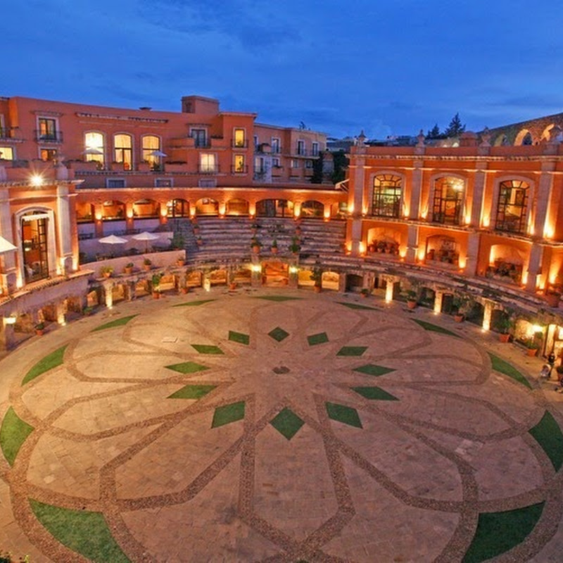 Quinta Real - Hotel in a Former Bullring in Zacatecas, Mexico