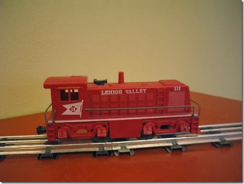 Marx Lehigh Valley #112 Diesel Locomotive