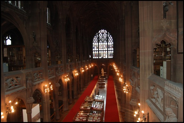 John Rylands Library, Manchester, Angleterre 06