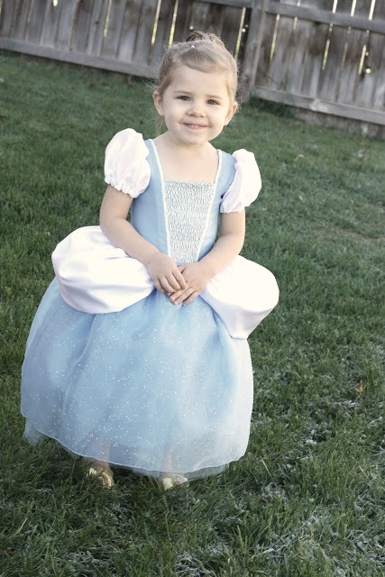 Cinderella Costume Tutorial