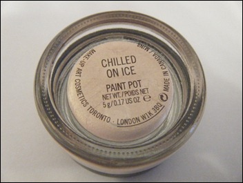 MAC Chilled on Ice Paint Pot
