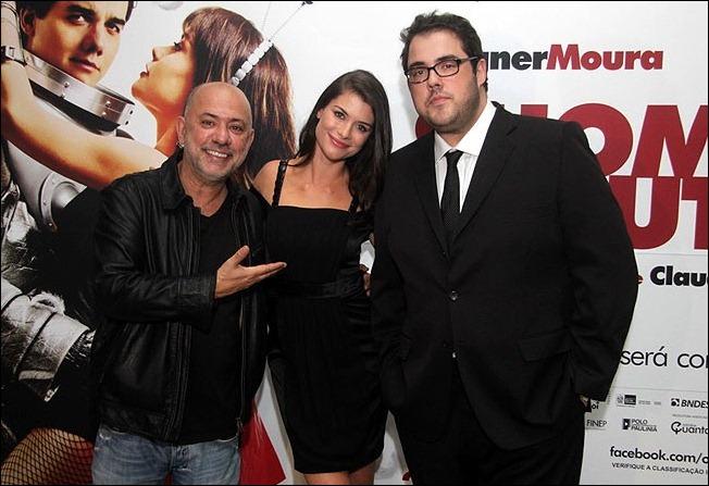 Claudio Torres, Alinne Moraes e Fernando Ceilão