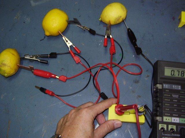 experimentos de quimica usando caiman electrico