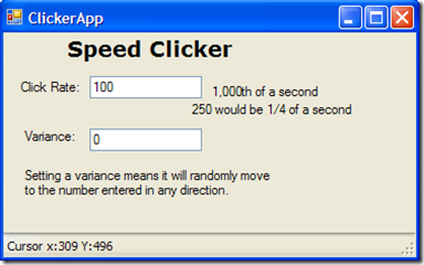 Speed Clicker
