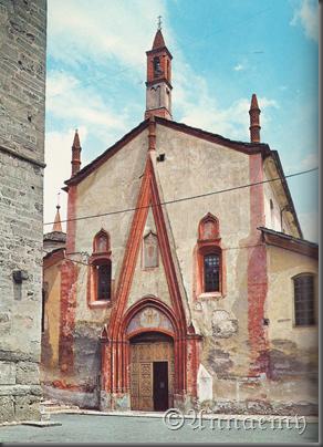 facciata portale gotico s.orso