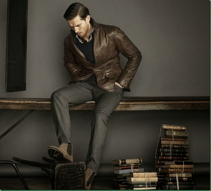 Andrew Cooper for Massimo Dutti – December Look Book