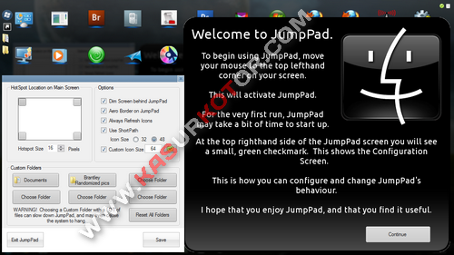 Download Mac OS X Lion LaunchPad untuk Windows 7