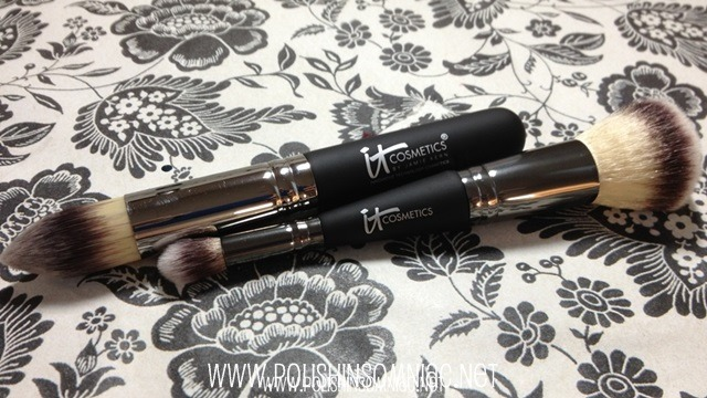 IT Cosmetics Heavenly Luxe™ Dual Airbrush Foundation/Concealer Brush and Heavenly Luxe™ Pointed Precision Complexion Brush