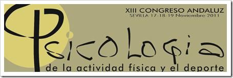 XIII Congreso Psicología de la Actividad Física y el Deporte en Sevilla, 17-19 noviembre de 2011.