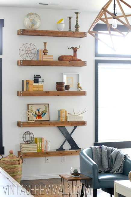 Diy living room ideas modern diy art designs for B q living room shelves