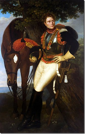 jose de madrazo -coracero frances 1813