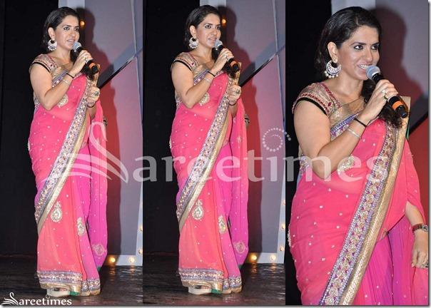 Shaina_NC_Pink_Saree