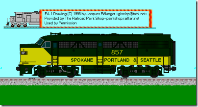 SP&S FA-1 857