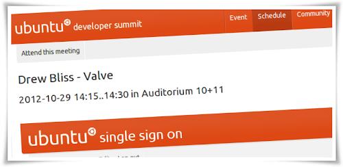 Valve sarà presente al prossimo Ubuntu Developer Summit
