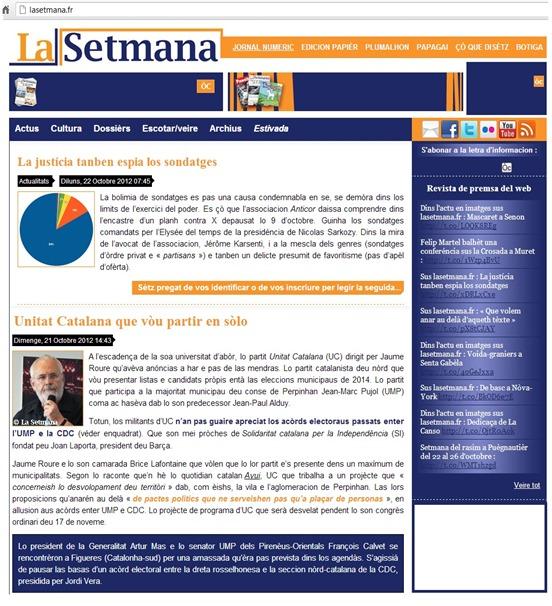 Unitat Catalana LaSetmana