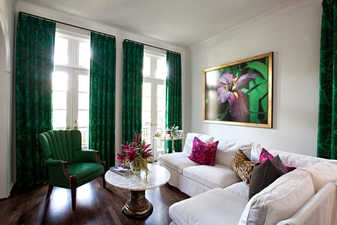 Sally_Wheat_green_malachite_drapes_Arnold