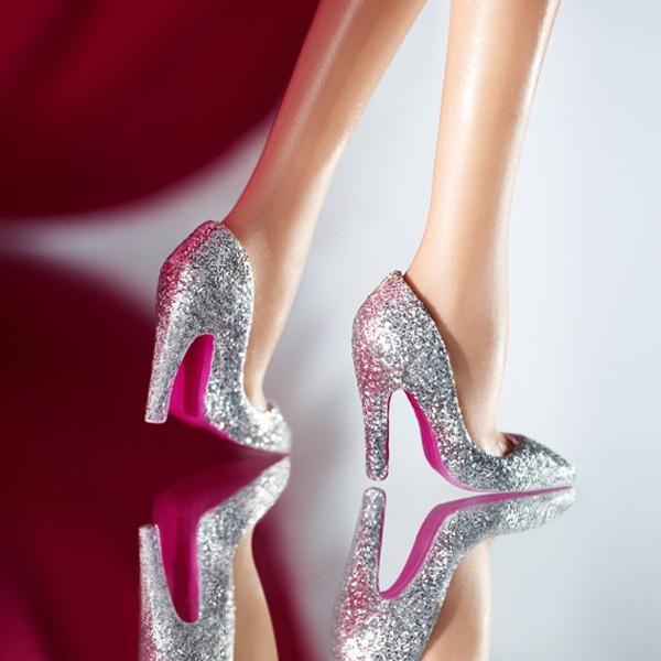 The Blonds Blond Diamond Barbie-Sapatos-Salto