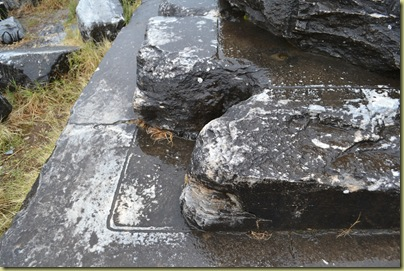 Priene Temple Base markings