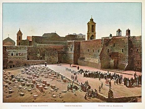 Igreja da Natividade, Belém, Israel (Boulos Meo, 1890 - Sem direitos adicionais)