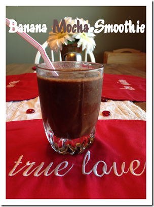 Banana Mocha Smoothie Border 2