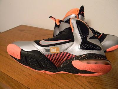nike lebron 9 gr silver black orange 2 03 New Pics: Upcoming Nike LeBron 9 Mango Slated for March 2nd