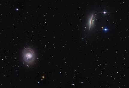 M77 e NGC 1055
