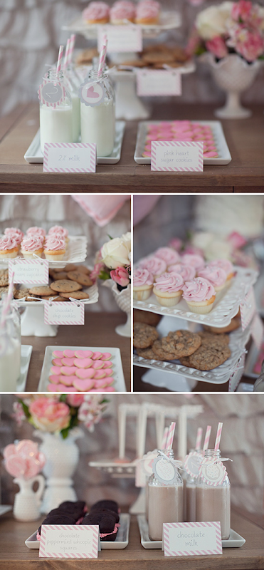Semplicemente Perfetto Lovely Milk Pink Gray Party 04