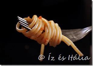 Spagetti feltekerése