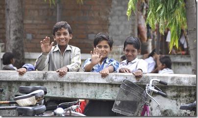 orchha khajuraho 027 écoliers