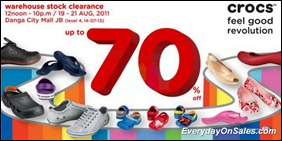 crocs-warehouse-stock-clearance-danga-city-mall-jb-2011-EverydayOnSales-Warehouse-Sale-Promotion-Deal-Discount