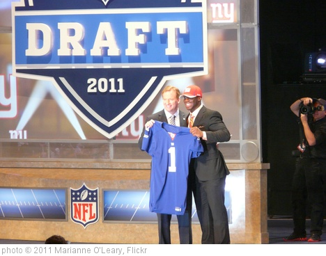 'Commissioner Goodell with Prince Amukamara ' photo (c) 2011, Marianne O'Leary - license: http://creativecommons.org/licenses/by/2.0/