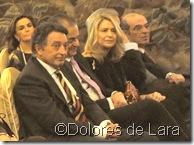 Silvia Gutiérrez, detrás a la izquierda