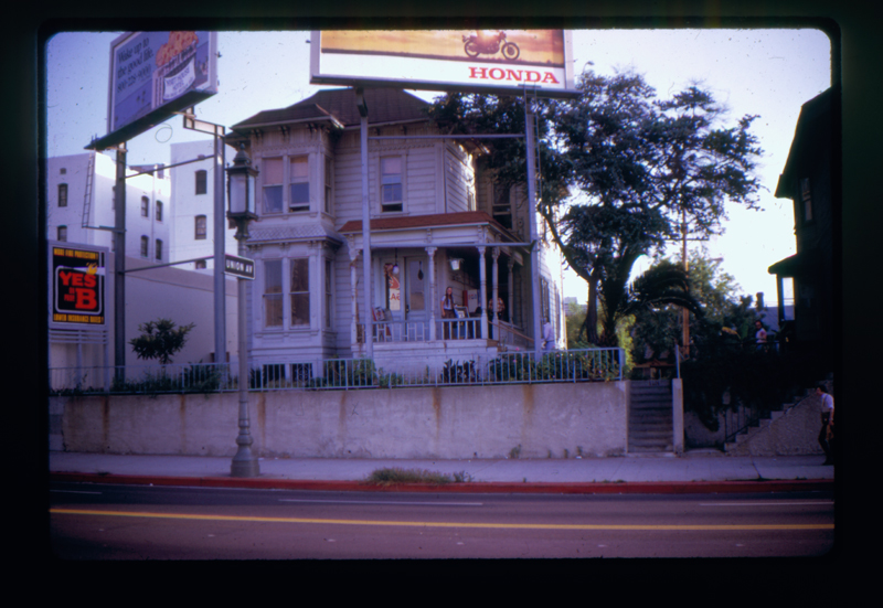 Gay Community Services Center (GCSC) exterior. 1971-1975