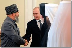 Путин на встрече с представителями религиозных конфессий России