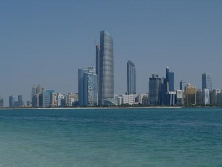 Obiective turistice Abu Dhabi: Abu Dhabi sky line