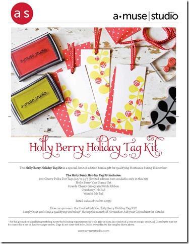 HollyBerryHolidayTagKit