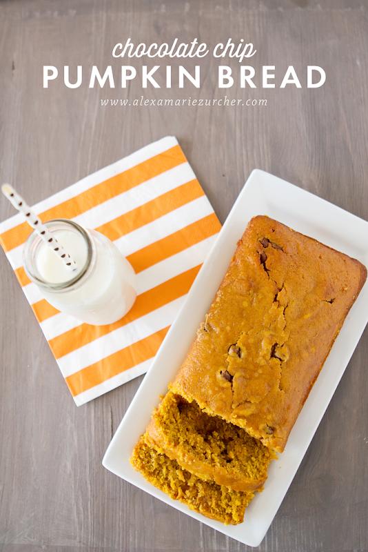 The Best Chocolate Chip Pumpkin Bread