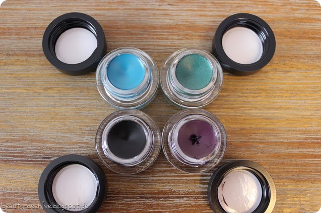 MAC Mac is Beauty LE Fluidline Blacktrack Macroviolet Ivy Blue Peep (2)