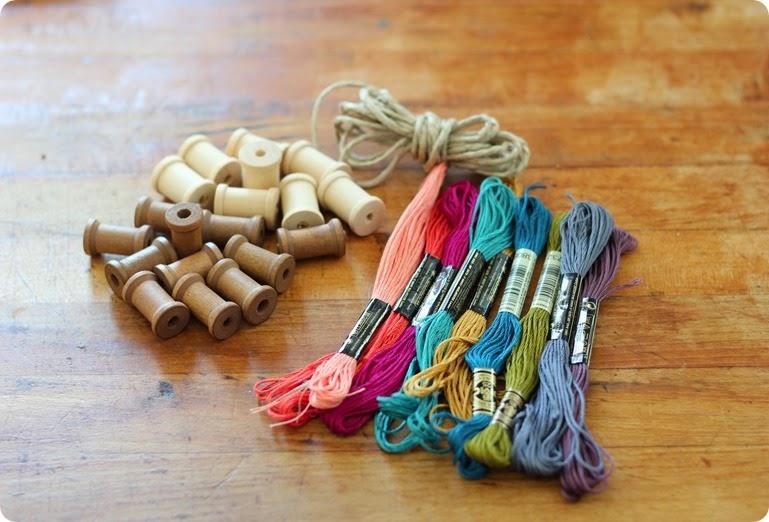 spool and thread garland from alwaysinwonder (2)