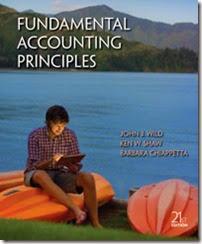 Solution Manual for Fundamental Accounting Principles 21e John J. Wild Ken W. Shaw Barbara Chiappetta