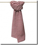 Cashmere Striped Scarf - £35