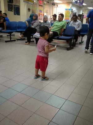 Pemeriksaan Pertama Kali Di Klinik Kesihatan Salak Sepang Ben Ashaari