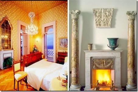 Bedroom in Sorrento villa