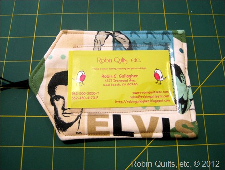 Elvis Bag Tag 2