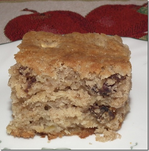 TWD--Apple Nut Muffin Cake 9-25-11