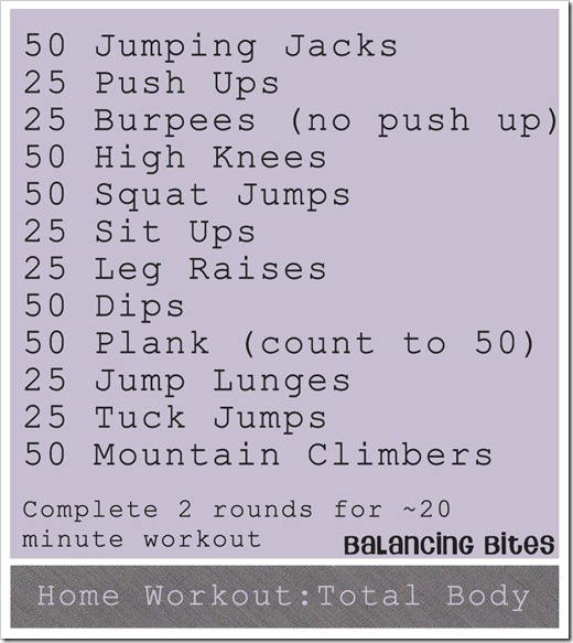 Home Workout Total Body