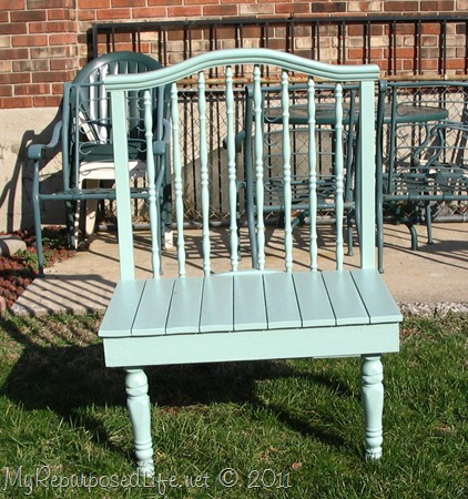 baby bed green