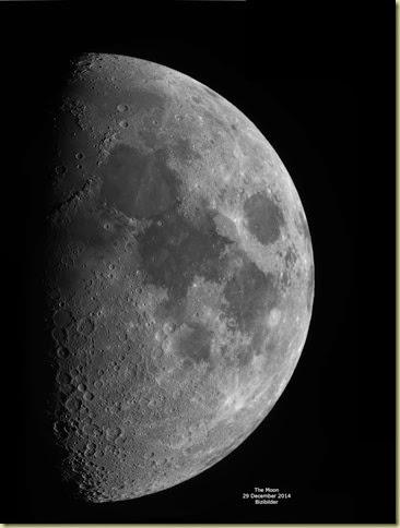 29 December 2014 Moon